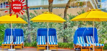 All-Day Private Cabana in Fort Laudardale